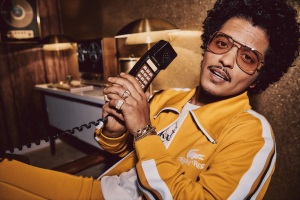 Bruno Mars Unveils 'Ricky Regal' Alter Ego for New Lacoste Collaboration