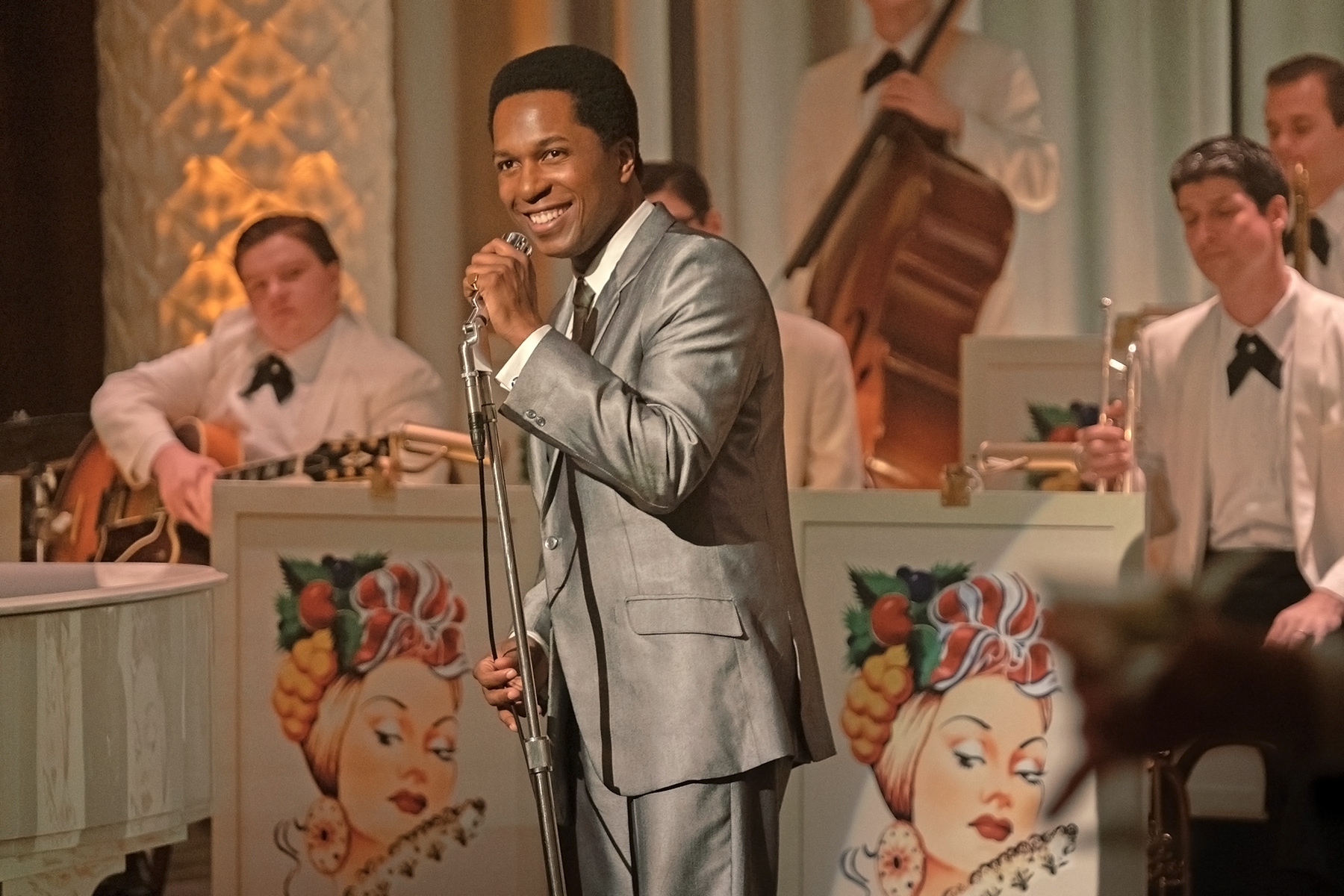 """Odom performs as Sam Cooke in """"One Night in Miami."""""""