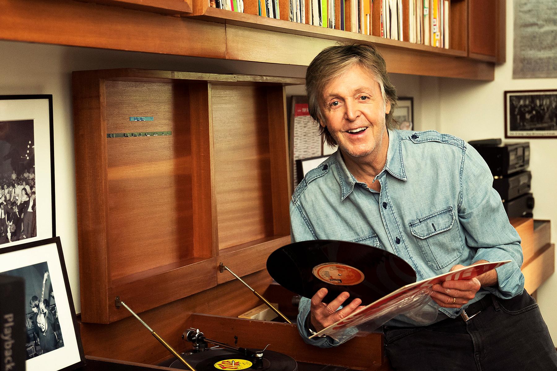 Paul McCartney Announces 'The Lyrics: 1956 to the Present' Memoir