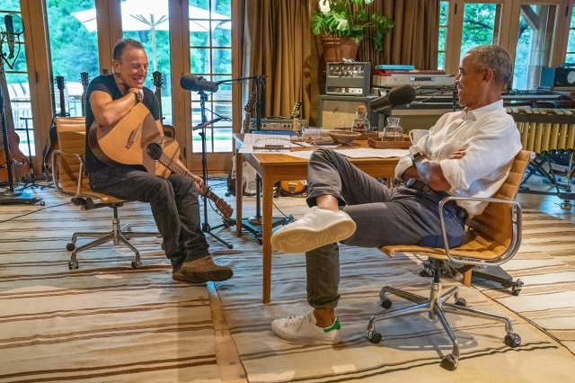 Springsteen Recalls Early Guitar Memories in New Clip From Podcast With Obama.jpg