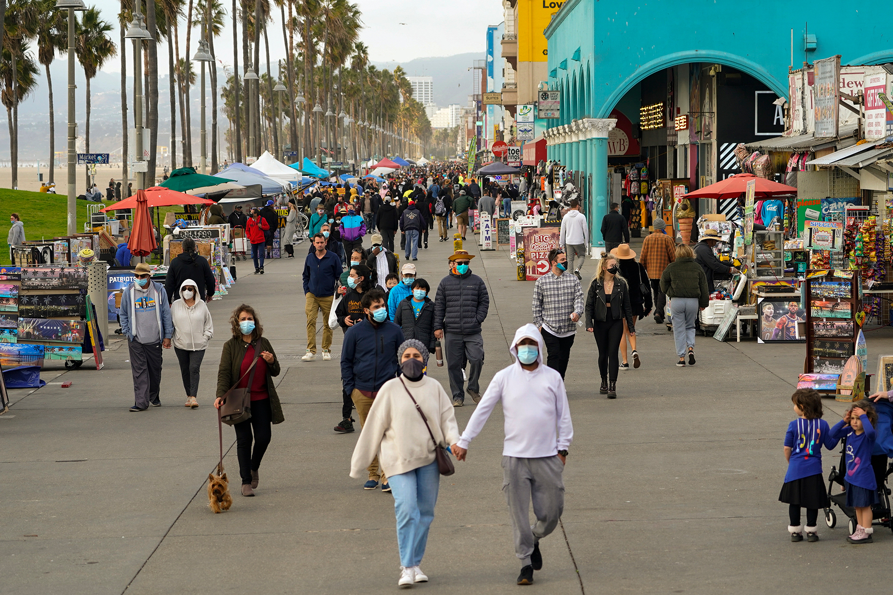 In Los Angeles, Pandemic Life Depends on Where You Live - Rolling Stone