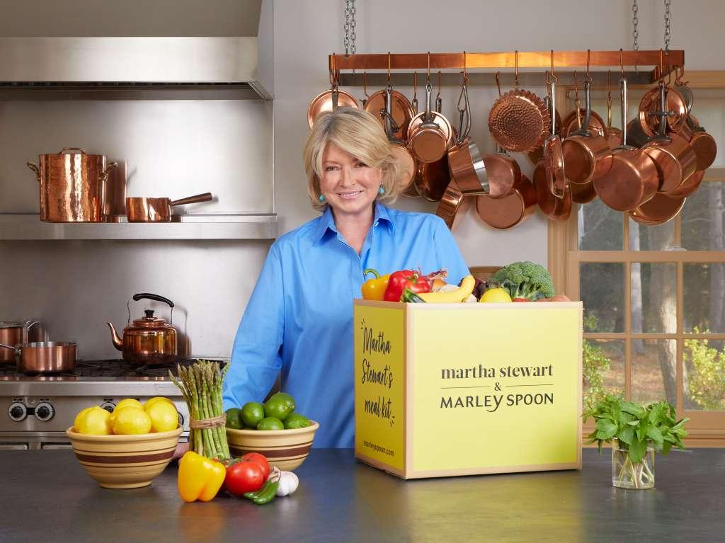 Martha Stewart & Marley Spoon