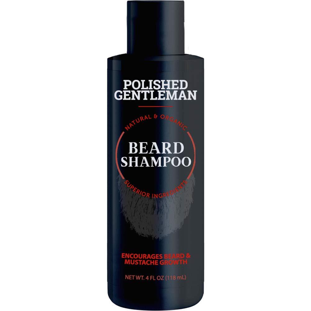 beard shampoo polished gentleman