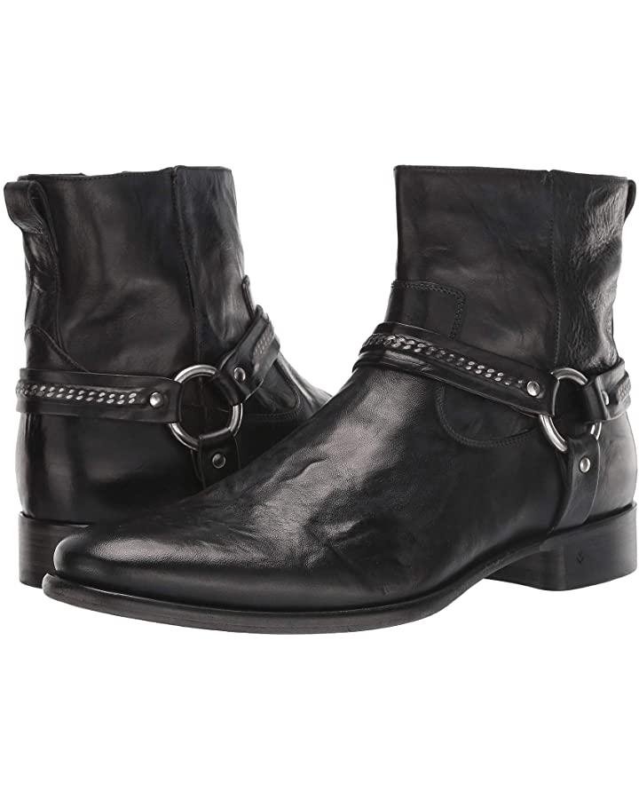 leather boots rockstar john varvatos