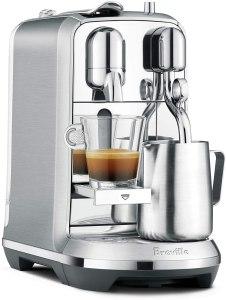 nespresso machine fancy breville