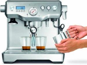 espresso machine double boiler breville