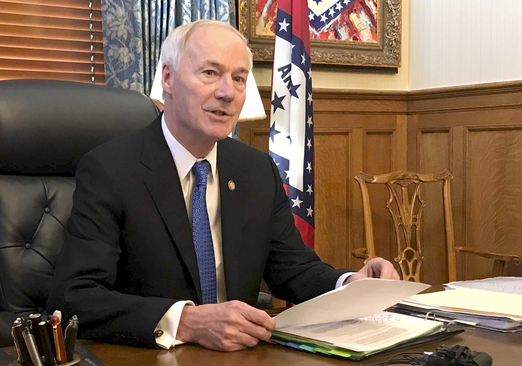 Arkansas Gov. Asa Hutchinson signs medical conscience objections bill allowing doctors to refuse to treat anyone on religious or moral grounds