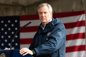 Bill de Blasio Burned Out When New York Needed Him Most