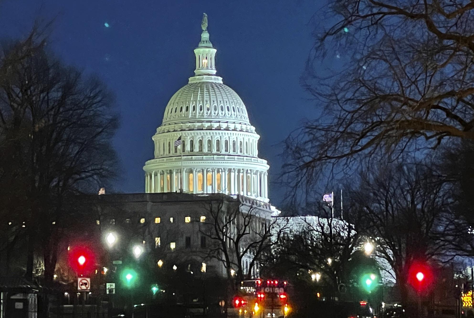 <p>Senate Passes $1.9 Trillion Covid Relief Bill Without a Single Republican Vote thumbnail