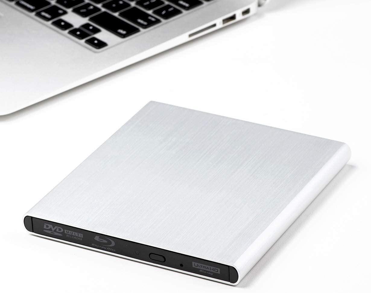 Archgon Premium Aluminum External USB 3.0 UHD 4K Blu-Ray Writer