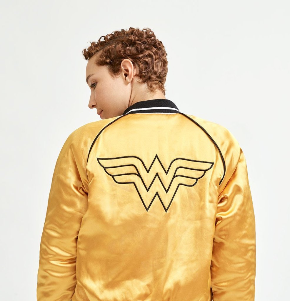 EleVen Believe in Wonder Wonder Woman Bomber Jacket
