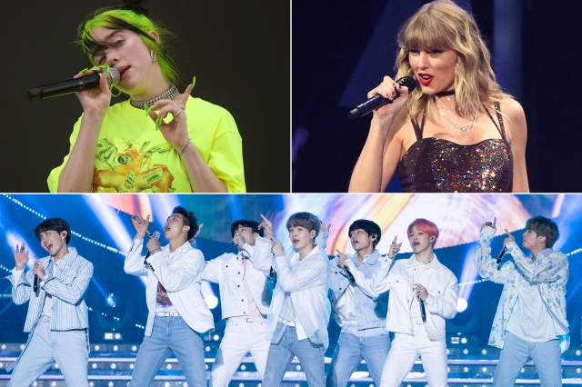 Grammys 2021: Billie Eilish, BTS, Taylor Swift to Perform.jpg