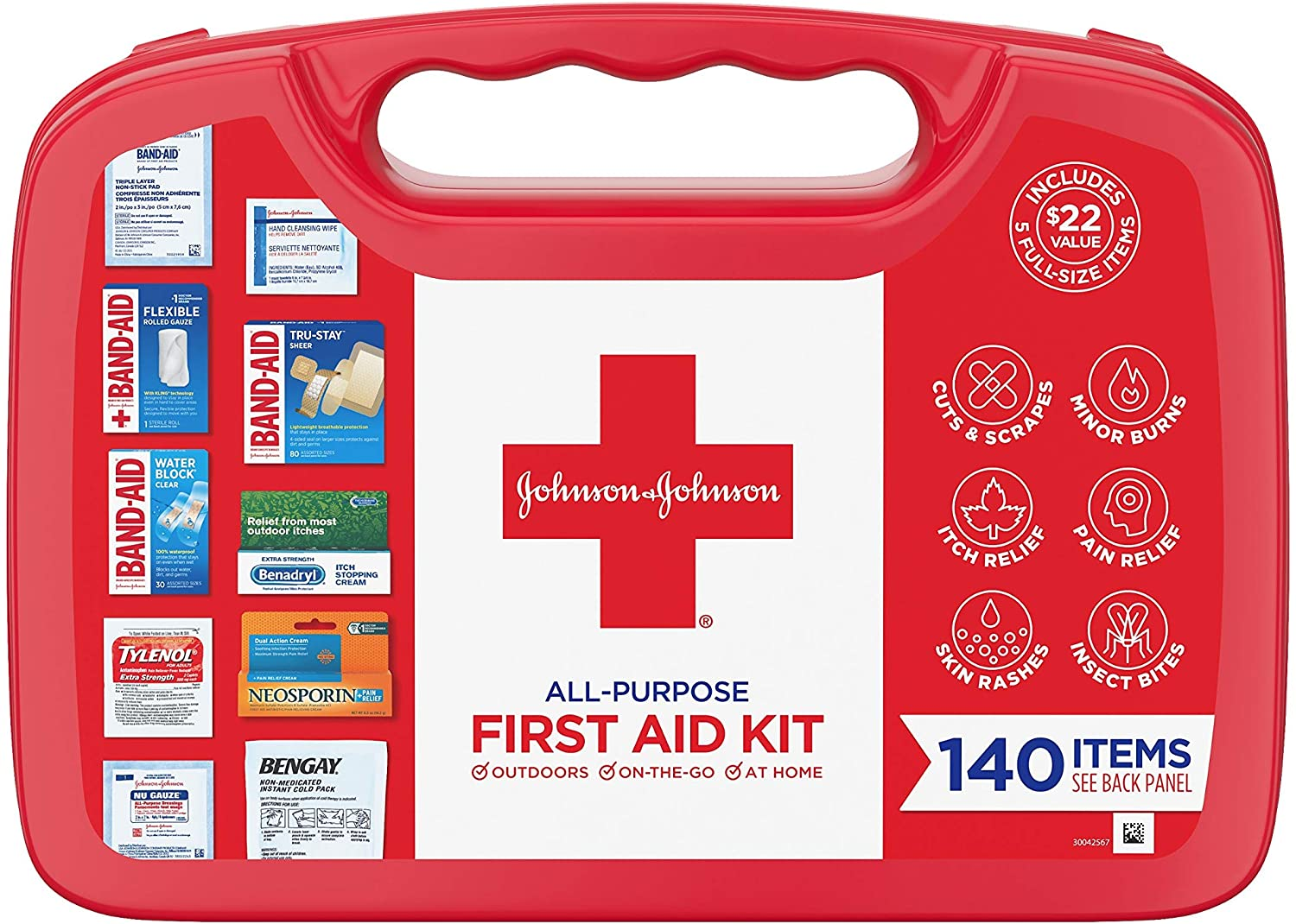 Johnson and Johnson All Purpose First Aid Kit