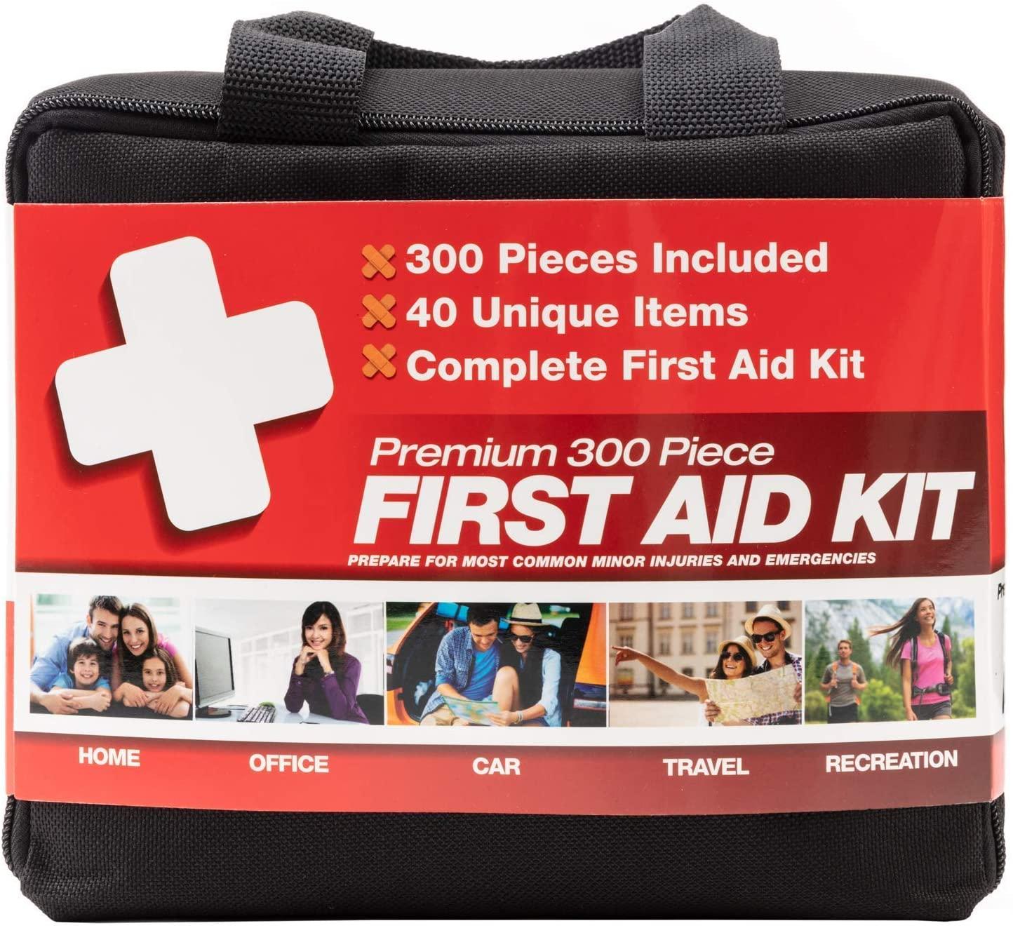 M2 Basics 300 Piece First Aid Kit