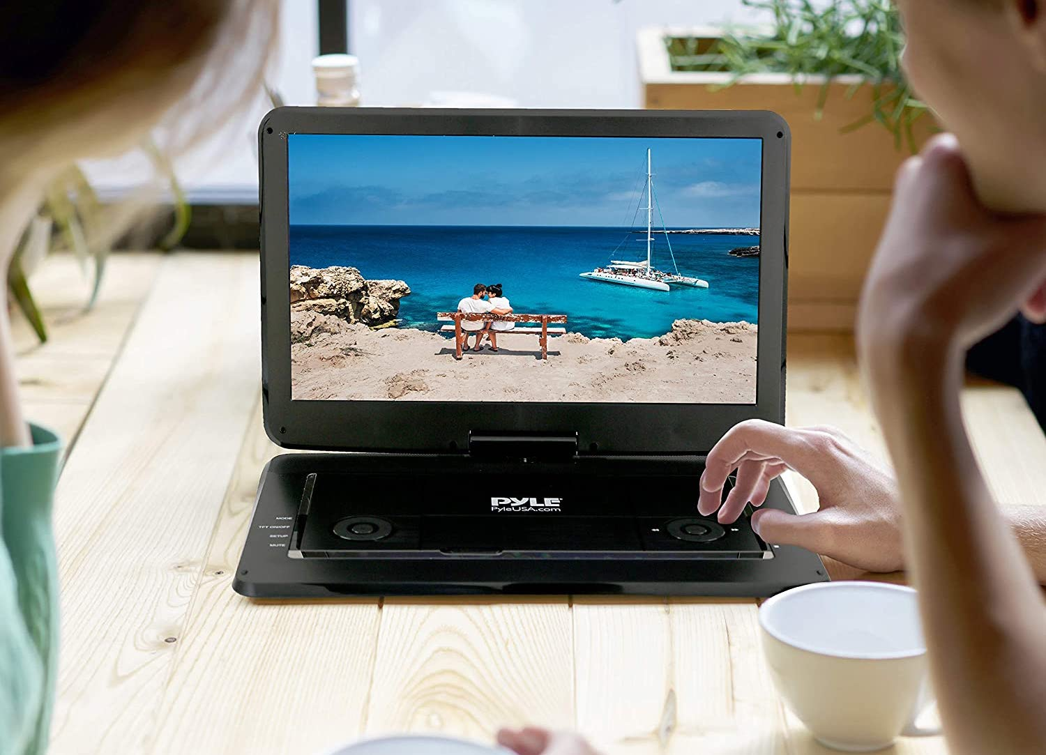 Pyle Portable DVD Player