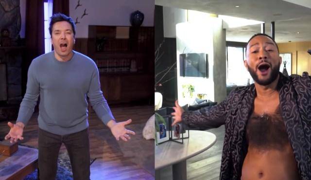 Jimmy Fallon, John Legend Can't Believe It's 'March Again' in New Parody Song.jpg