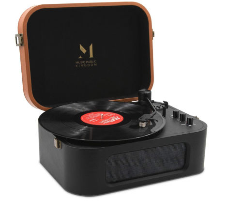 Music Public Kingdom Bluetooth Portable Record Player