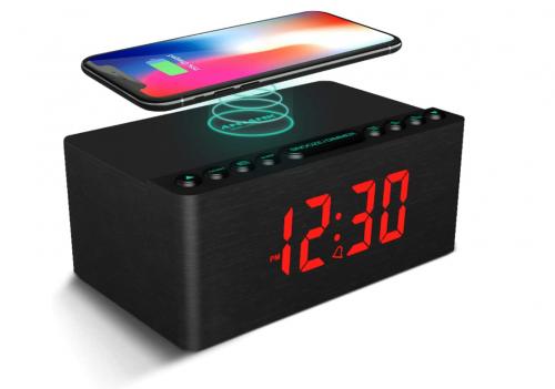 Best Wireless Charging Clock Anjank Alarm Clock with Wireless Charging