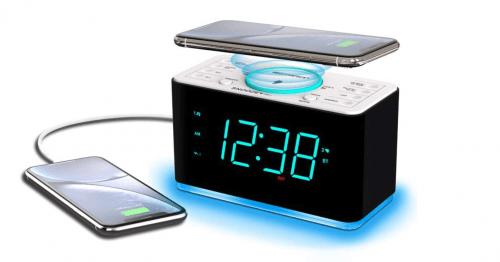 Best Wireless Charging Clock Emerson Radio Smartset Alarm Clock Radio
