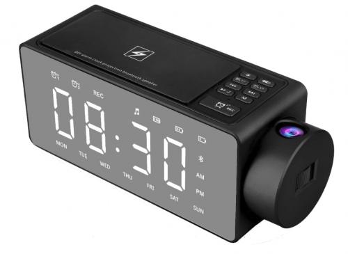 Best Wireless Charging Clocks Htterino Projection Alarm Clock