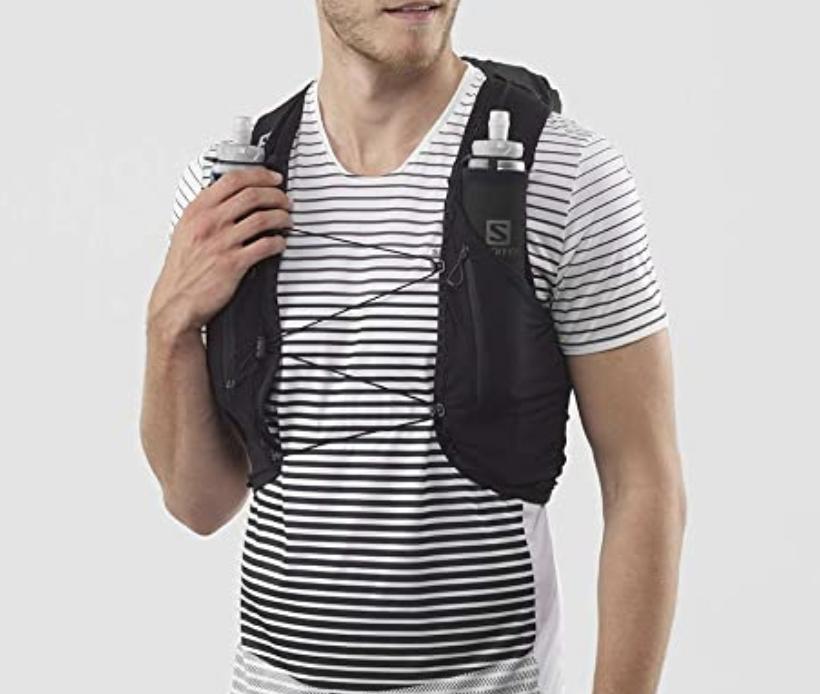 running backpack vest salomon