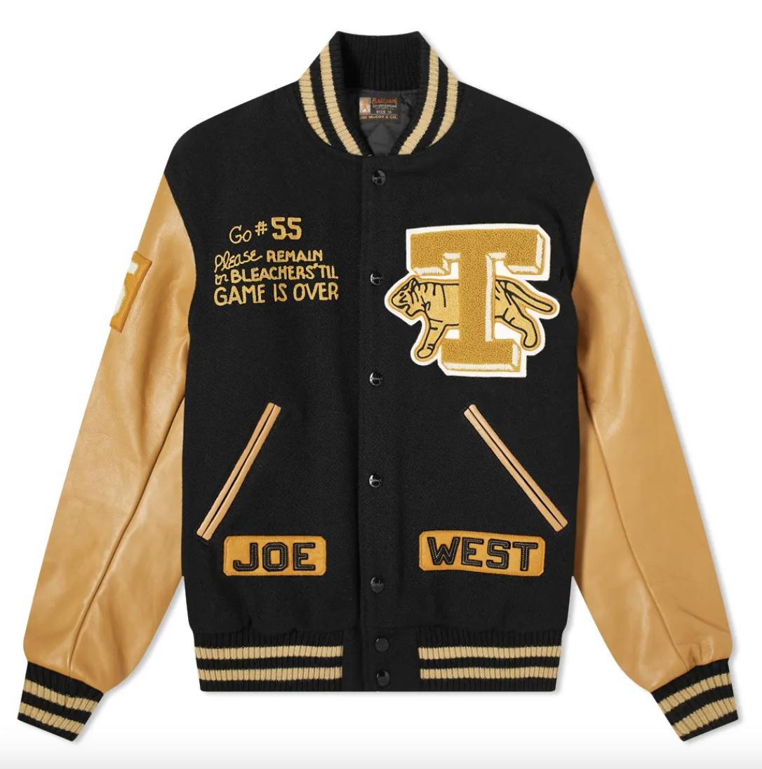 varsity jacket mens vintage