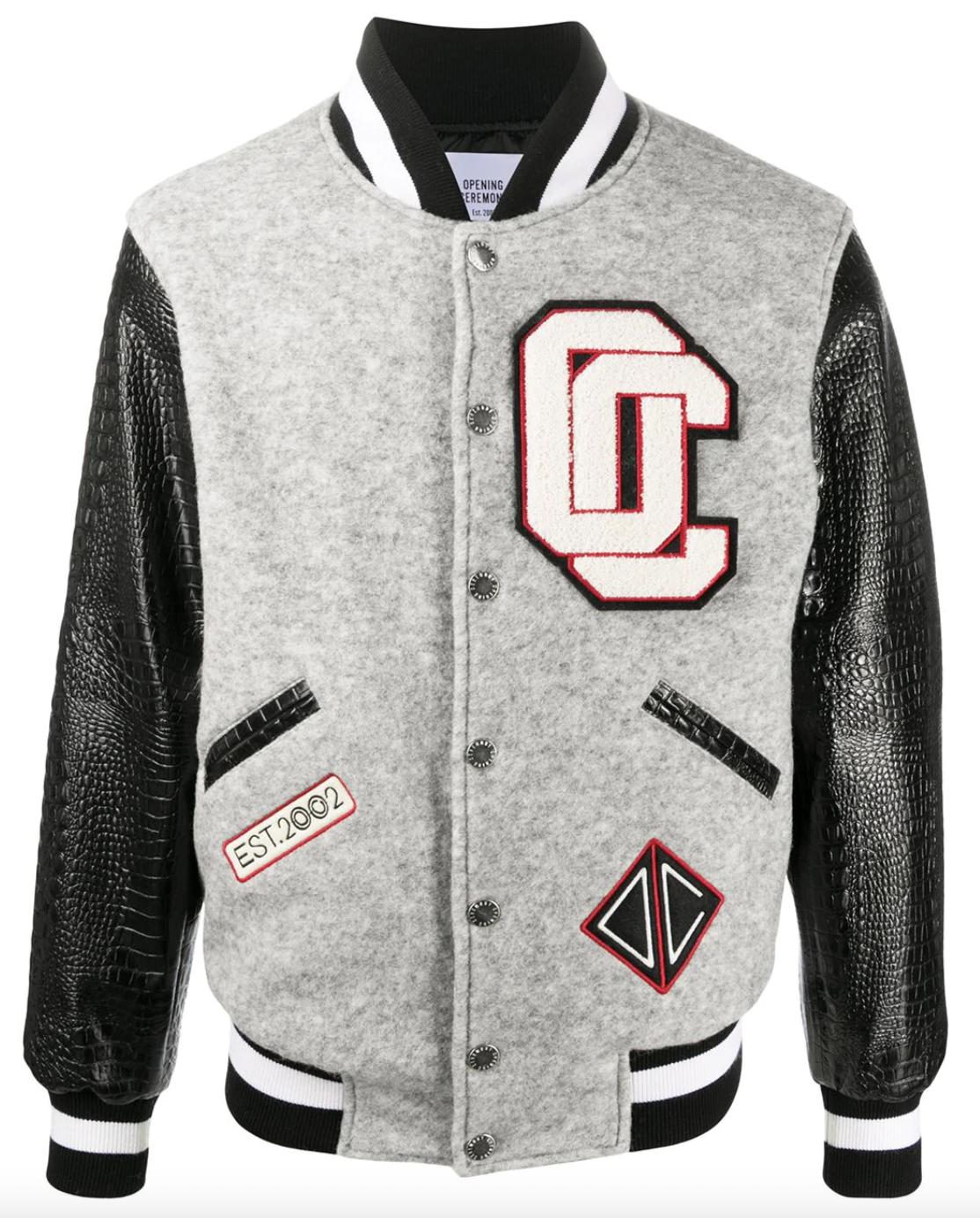 varsity jacket designer mens