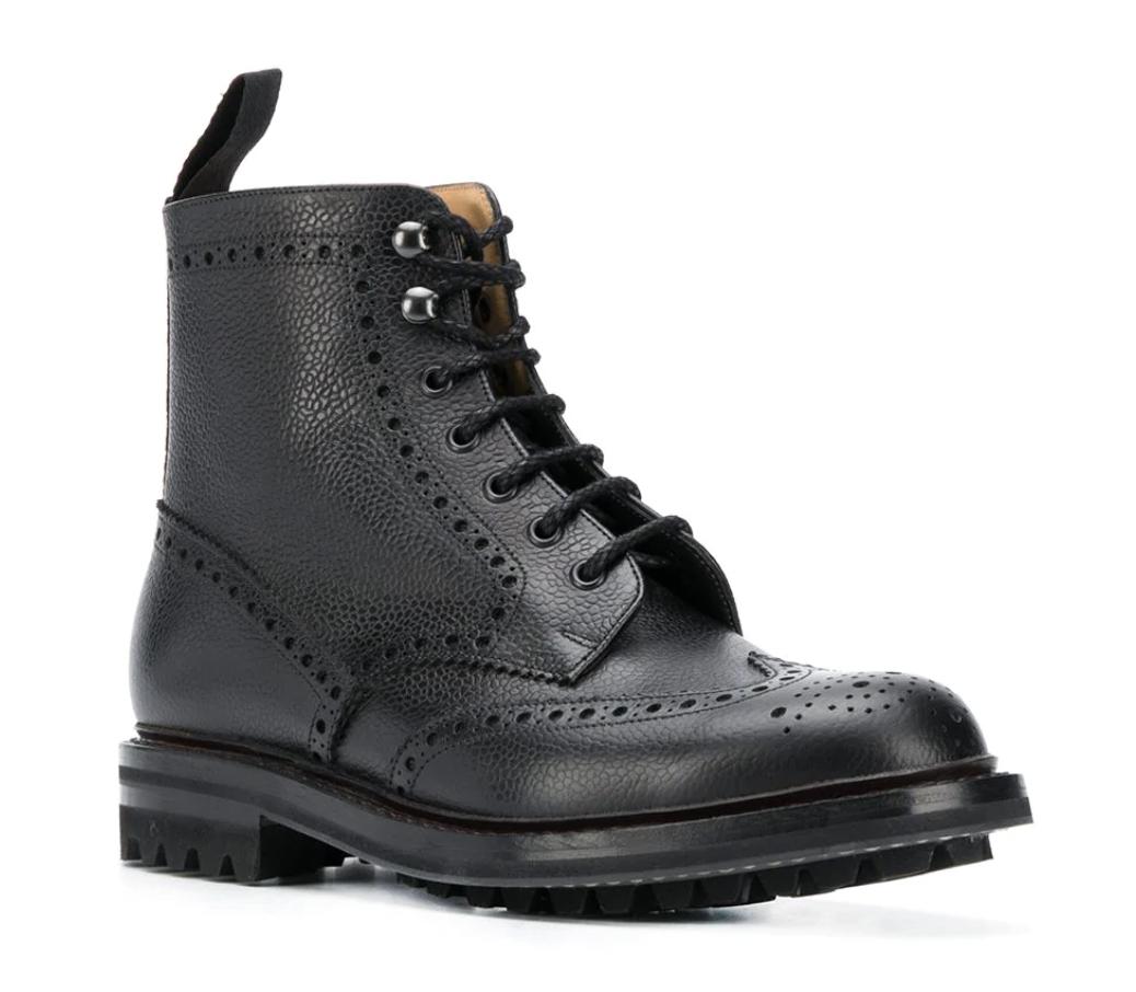 brogue boots mens churchs
