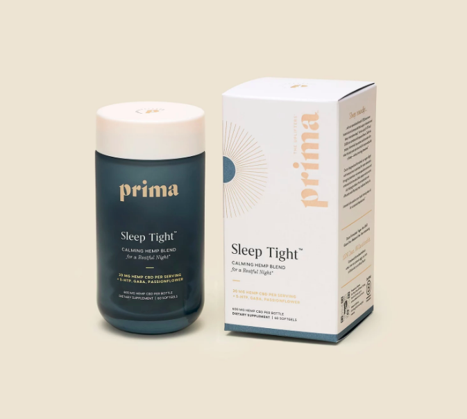 prima sleep tight soft gels review CBD