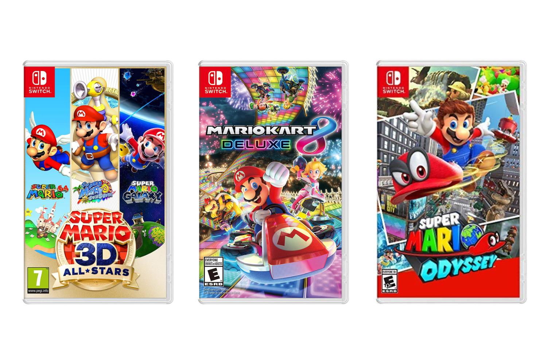 Mario Kart Mario Odyssey Mario 3D All Stars Switch