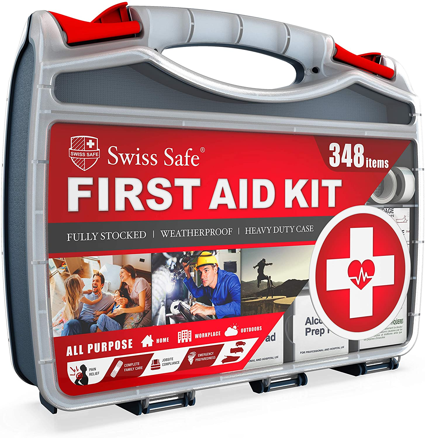 Swiss Safe All Purpose First Aid Kit
