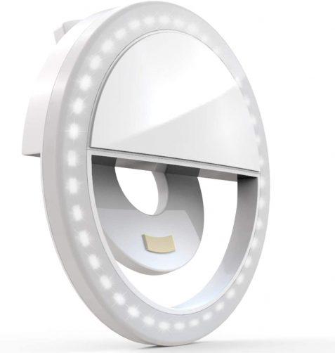 auxiwa clipon selfie ring light
