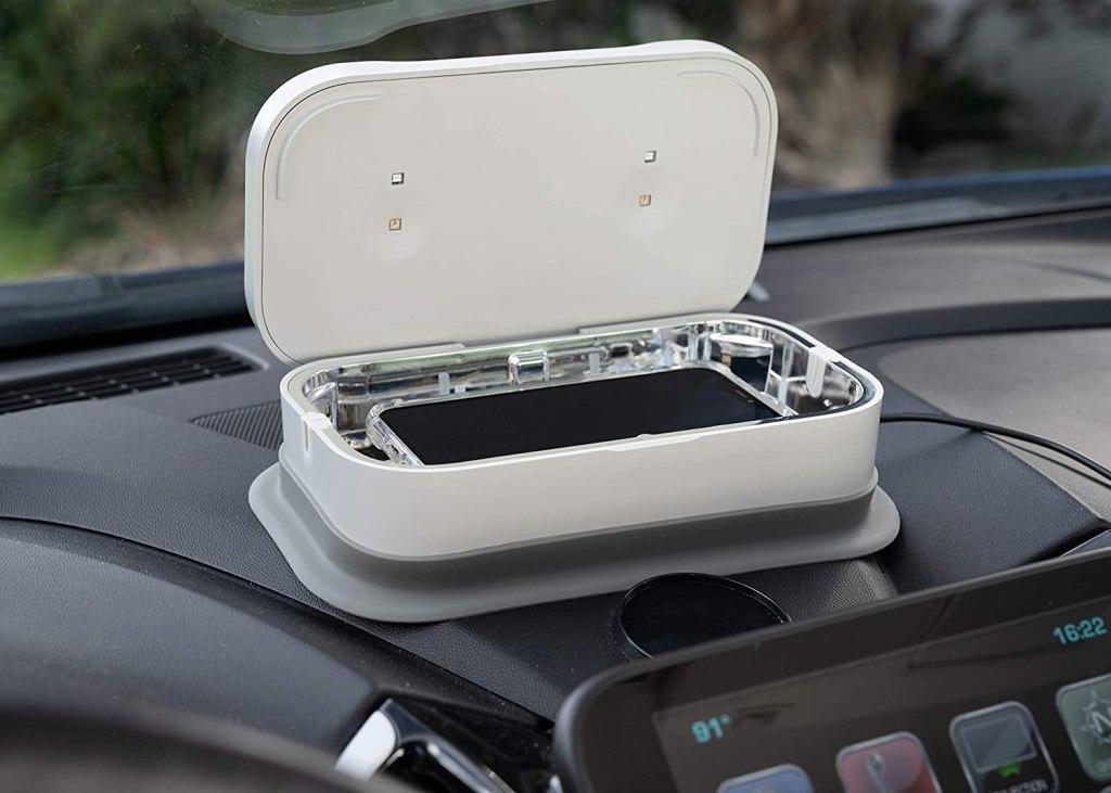 car phone sanitizer