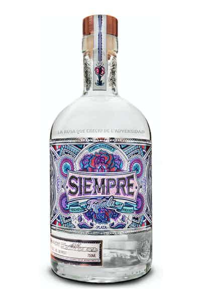 siempre tequila plata