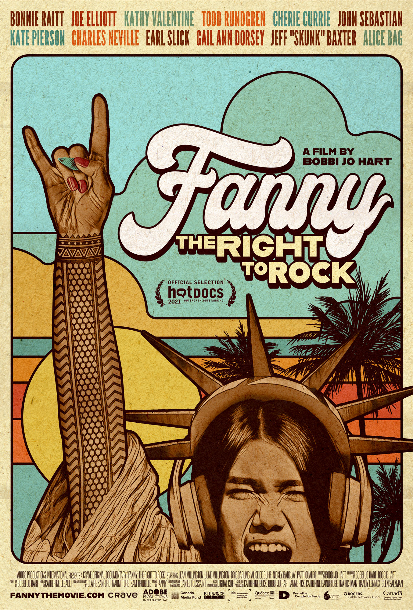 fanny the right to rock poster