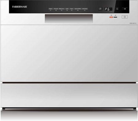 farberware compact countertop dishwasher