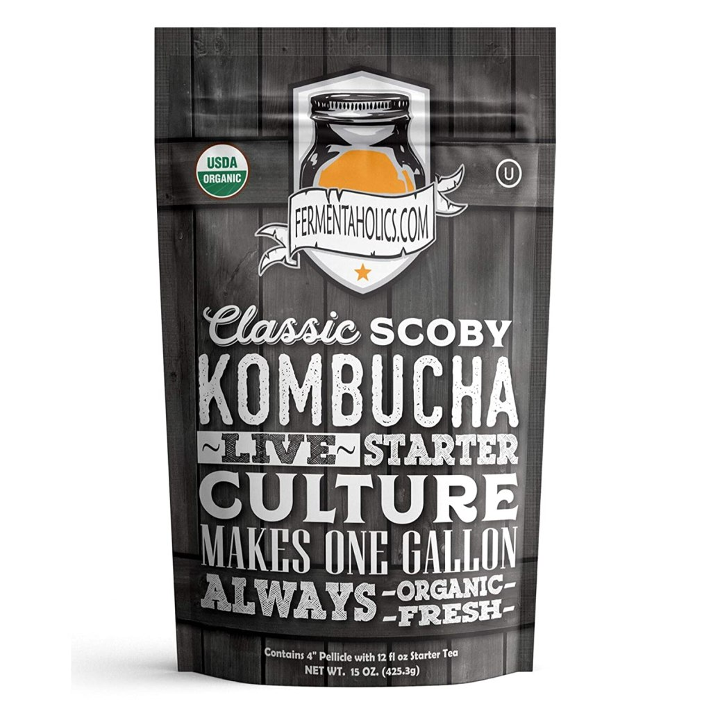 fermentaholics kombucha starter culture