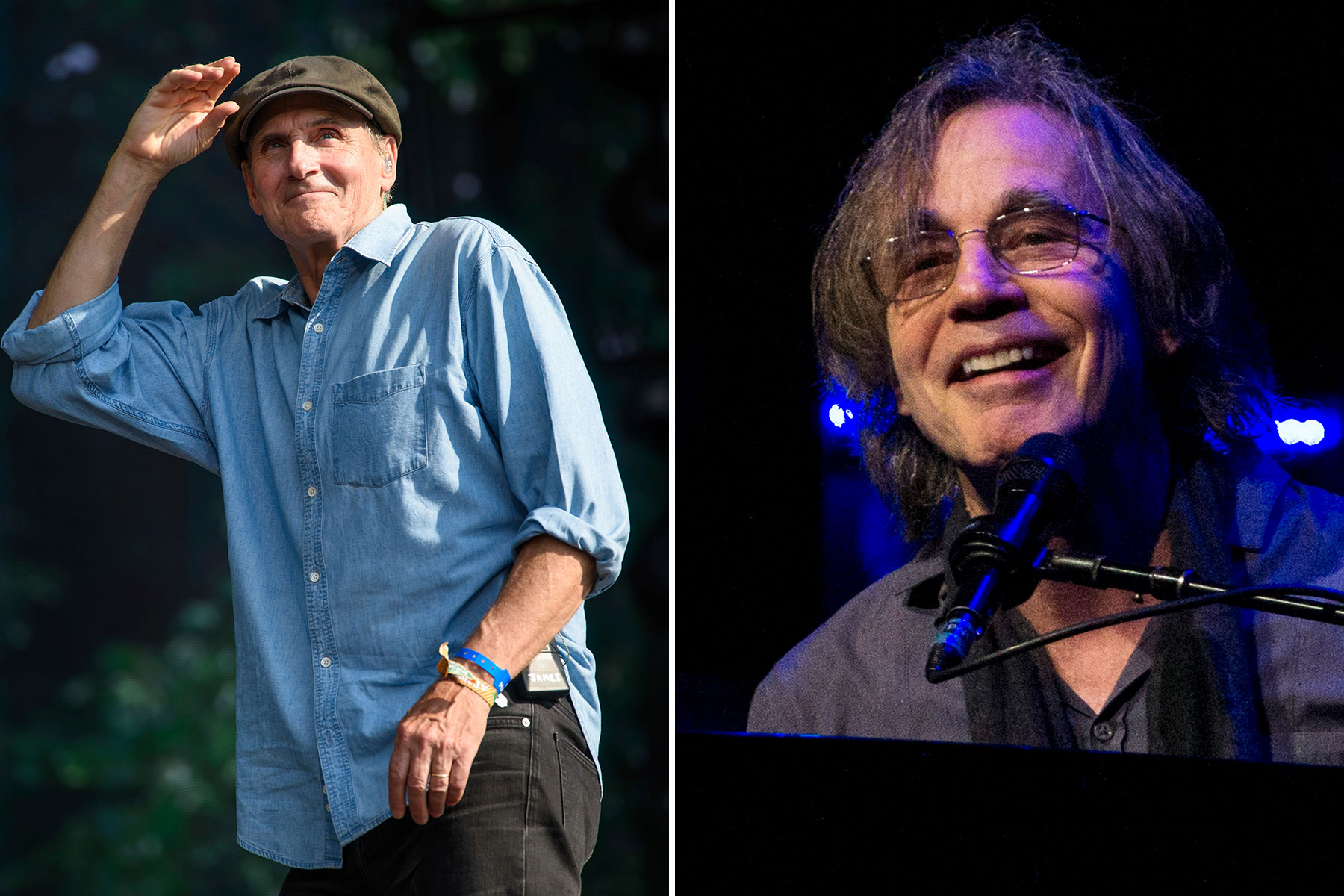 James Taylor, Jackson Browne Announce Rescheduled Dates for Joint Tour
