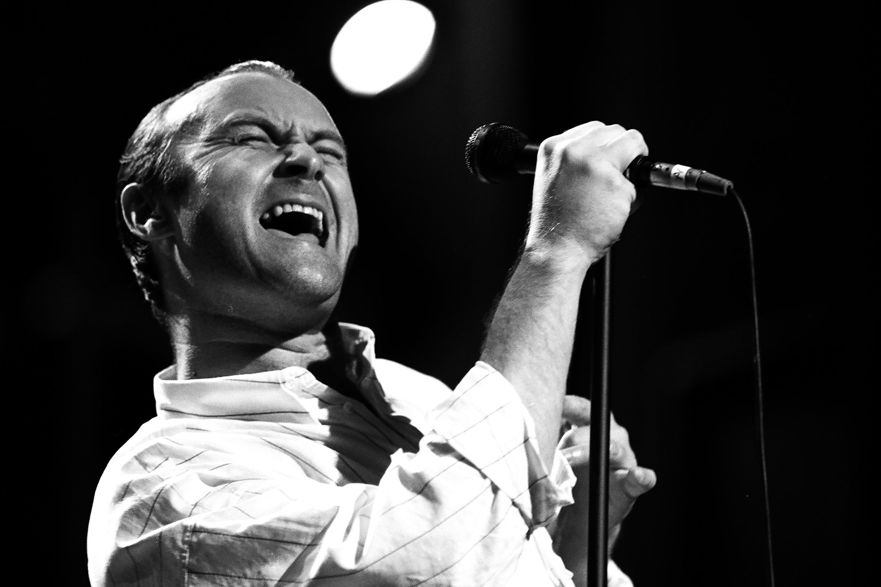 Flashback: Phil Collins Sings 'All I Need Is a Miracle' With Eric Clapton