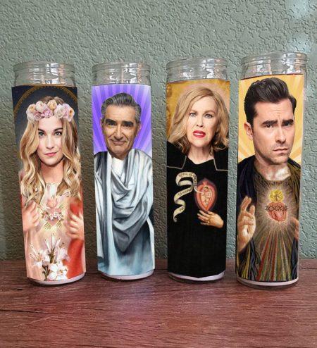 Schitt's Creek fan gifts prayer candles