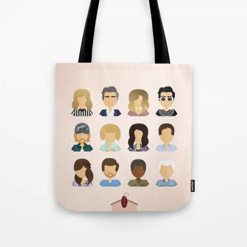 Schitt's Creek fan gifts tote bag
