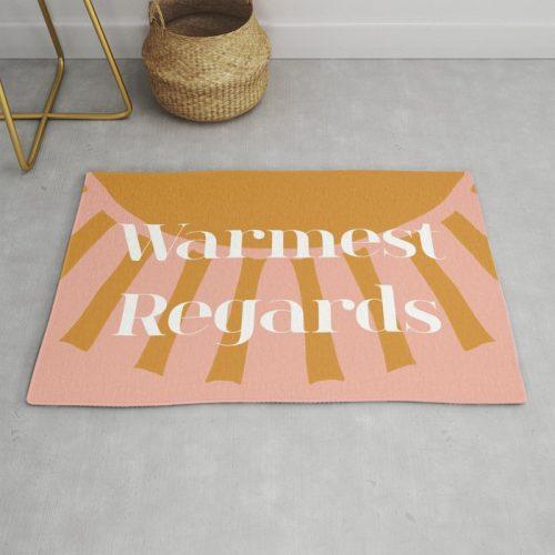 Schitt's Creek fan gifts rug