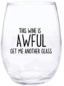 Schitt's Creek Stemless Wine Glass