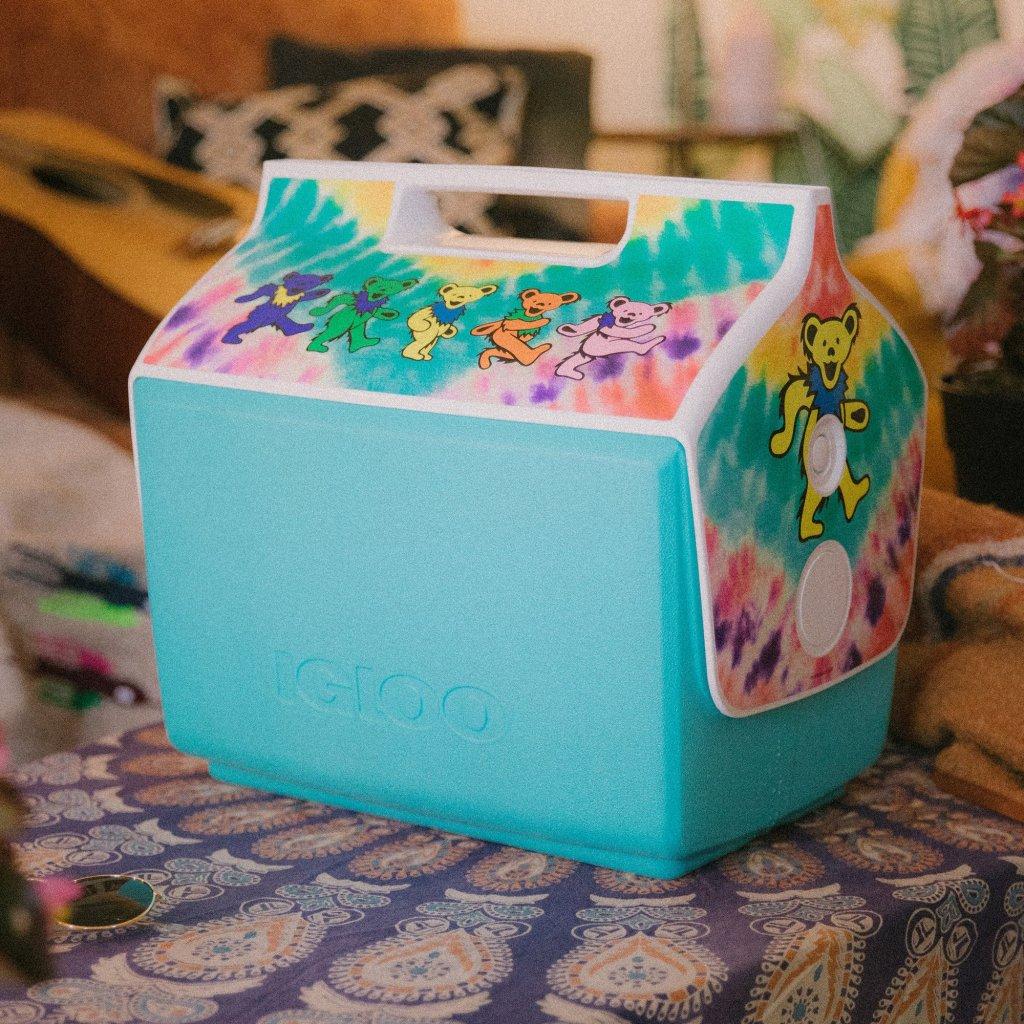 grateful dead igloo cooler
