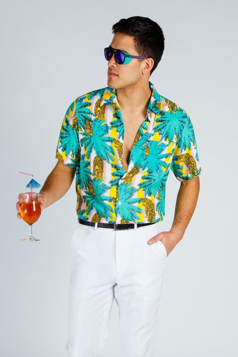 crazy hawaiian shirt shinesty