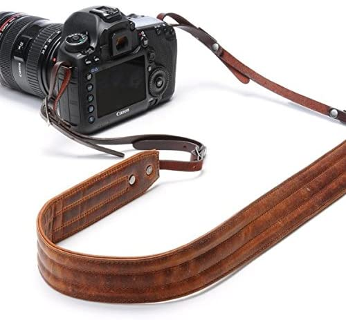 camera strap leather