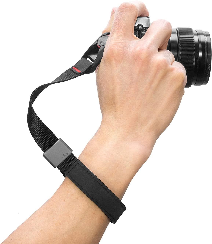 camera strap wrist peak design