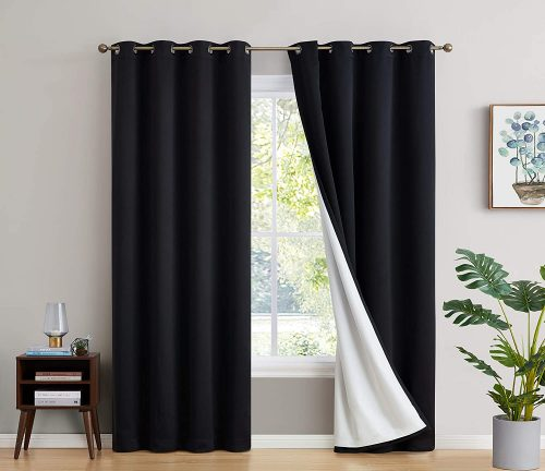 HLC.ME Soundproof Long Window Curtain
