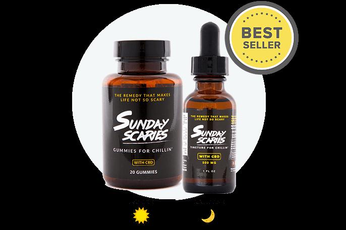 sunday scaries review cbd