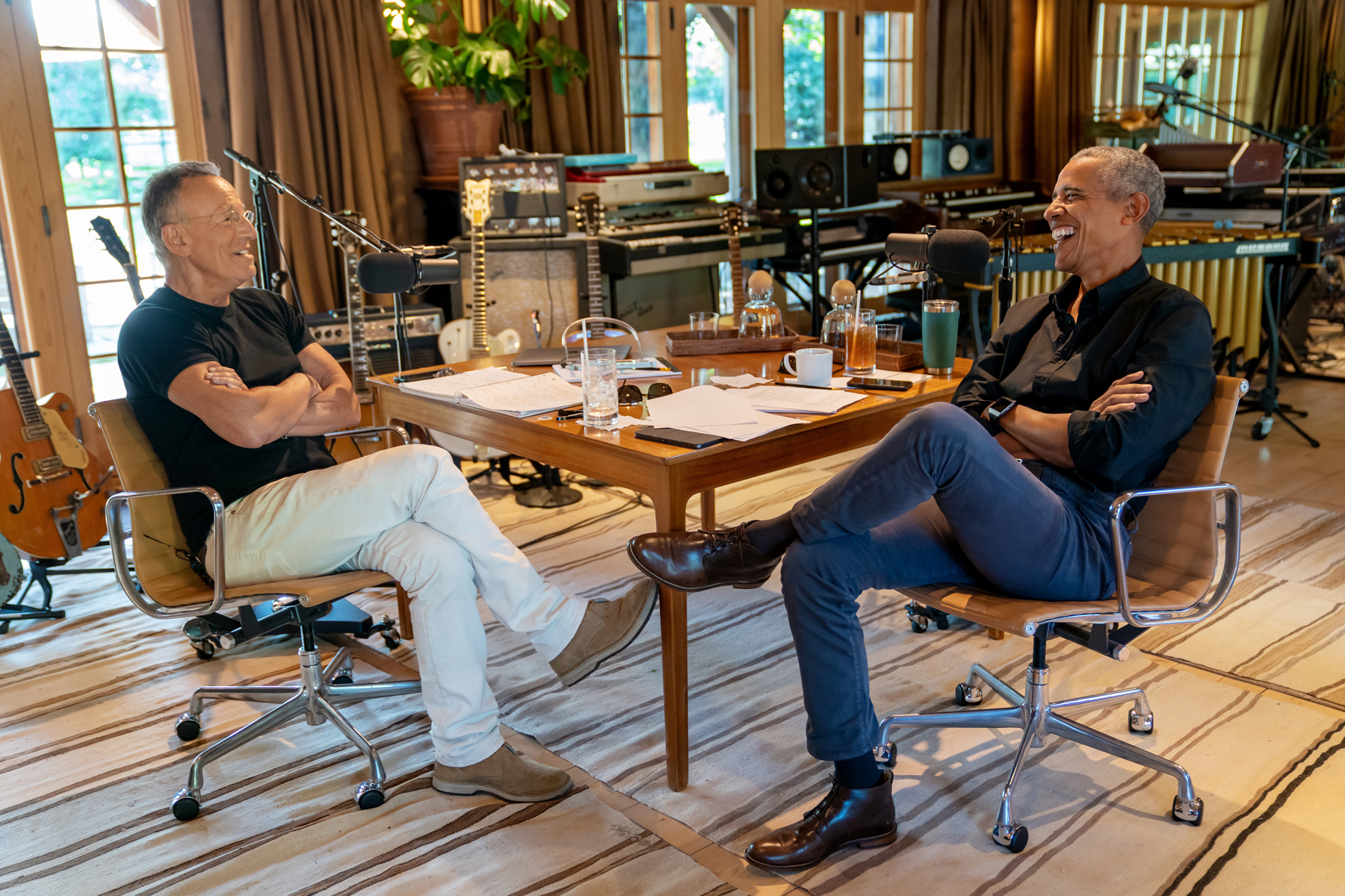 Bruce Springsteen, Barack Obama Discuss the Complicated Legacy of 'Born in the U.S.A'